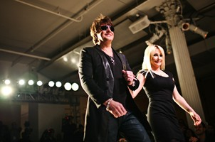 Bon Jovi's Richie Sambora Hits Fashion Week