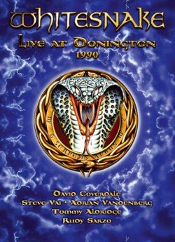 Whitesnake 'Live At Donington 1990' DVD/Double Live CD Coming In June