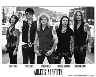 Adler's Appetite Announce New Singer For Upcoming Tour