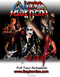 Lizzy Borden Announces Summer Of Blood 2011 Tour