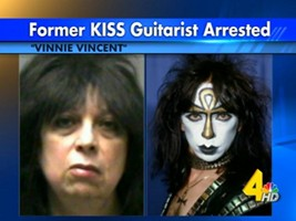 Vinnie Vincent Allowed To Return Home After Wife Beating Allegations