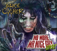 Alice Cooper Teams Up With Concert Live To Produce Exclusive Live CDs