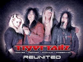 Tigertailz Welcome Back Original Drummer Ace Finchum