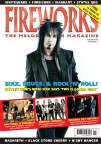 Fireworks Magazine Keeps Rock Alive With Nikki Sixx Cover Story