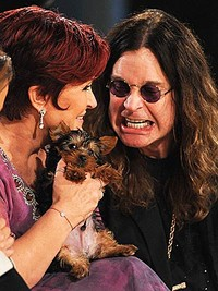 Ozzy Osbourne Shells out $10,000 For Puppy At Charity Event