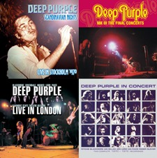 Deep Purple To Release Four Double-Discs Of Onstage Action