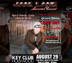 Legendary Rock Bands Unite To Honor Jani Lane At Memorial Concert