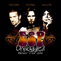 John Corabi, Bruce Kulick, And Eric Singer Scheduled 'ESP Unplugged' Winter Tour