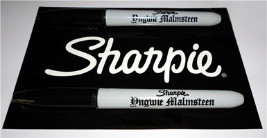Yngwie Malmsteen Honored By Sharpie Pens
