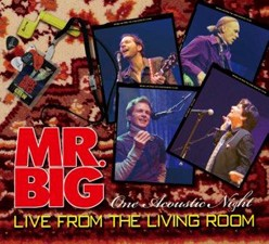 Mr. Big Releasing Acoustic Live Album 'Live From The Living Room' In February
