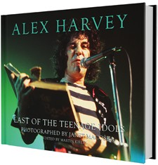 Alex Harvey 'Last Of The Teenage Idols' Photobook Coming In February