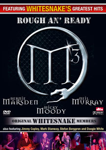 M3 Classic Whitesnake To Release Rough 'N' Ready DVD
