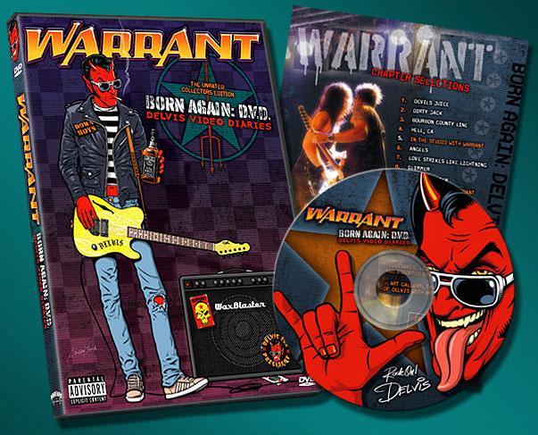 Warrant DVD