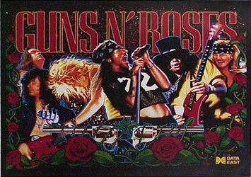 Guns N' Roses Pinball Machine Being Auctioned On eBay