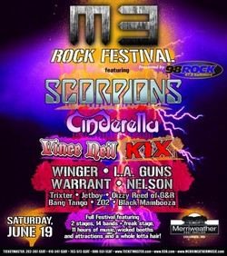 The Scorpions Round Out M3 Rock Festival Lineup