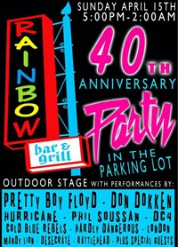 Pretty Boy Floyd To Headline Rainbow 40th Anniversary Party