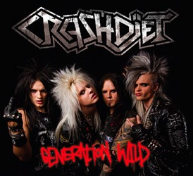 Crashdiet To Release Generation Wild In Europe Through Frontiers Records
