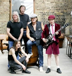 AC/DC's Follow-Up To 'Black Ice' Is A Year or Two Away
