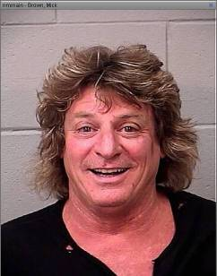 'Wild' Mick Brown Arrested For Drunkenly Stealing Golf Cart