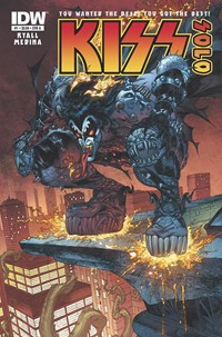 KISS Goes Solo In Upcoming Comic Miniseries