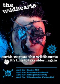 The Wildhearts To Celebrate 20th Anniversary Of 'Earth Vs The Wildhearts'