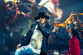Axl Rose Being Sued Over Microphone Mishap