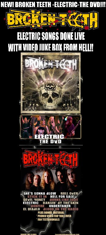 Broken Teeth Release Electric The DVD