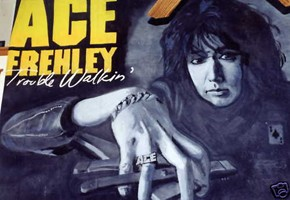 Ace Frehley 1989 Tour Stage Backdrop Being Sold Online