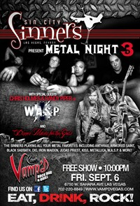 Sin City Sinners Show With Former W.A.S.P. Members To Stream Online