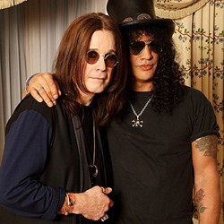 Slash Comments On Recording With Ozzy And Lemmy