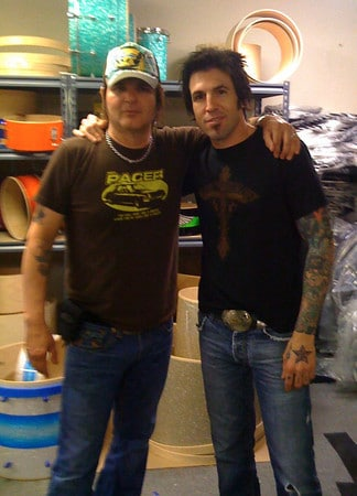 Rikki Rockett and Phil Varone