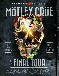 Motley Crue Announce 'The Final Tour' With Alice Cooper As Support
