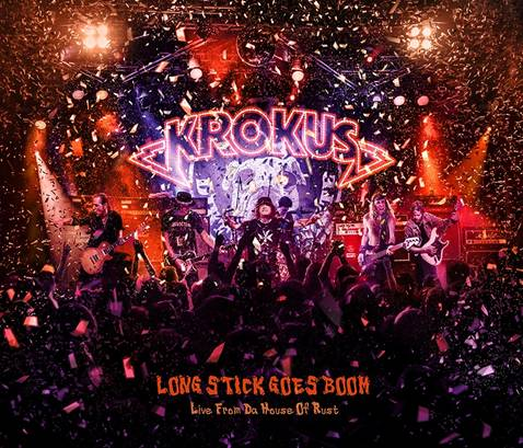 Krokus Releasing Live Album On April 22nd