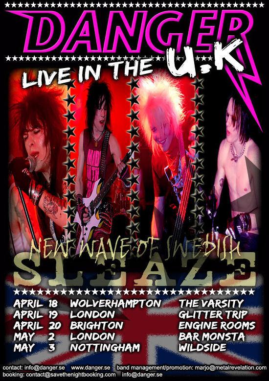 Danger UK Tour