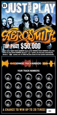 Aerosmith Featured On Mexican Lottery Scratch Ticket