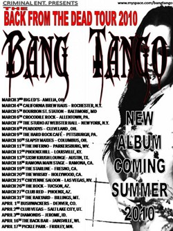 >Bang Tango Confirms New 'Back From The Dead' Tour Dates