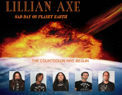 Lillian Axe Wrap Up Sad Day On Planet Earth CD