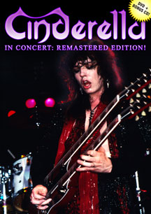 Cinderella In Concert: Remastered Edition DVD Coming Soon