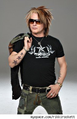 Rikki Rockett Arrested For Rape