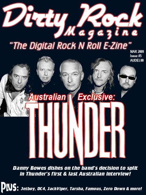 Dirty Rock Magazine Offers March Issue For Free