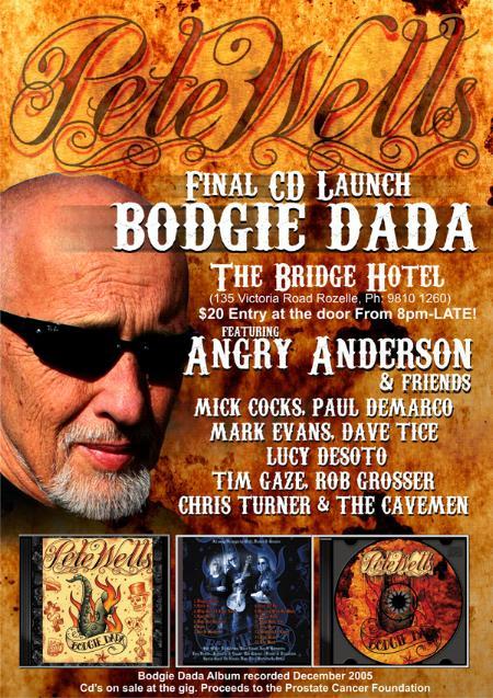 Pete Wells - Bodgie Dada