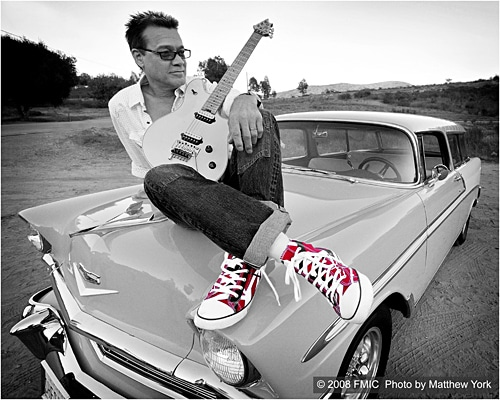 Eddie Van Halen Launches EVH Brand Signature Striped Sneakers