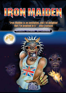 Iron Maiden Rock Case Studies DVD