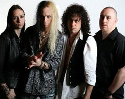 White Widdow Sign With AOR Heaven