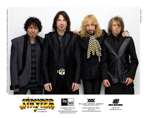 Stryper To Announce First Five Shows On April 24th