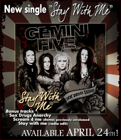 Gemini Five Release Stay With Me Single