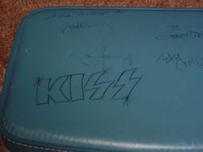 Ace Frehley And Kiss Autographed Suitcase For Sale On Ebay