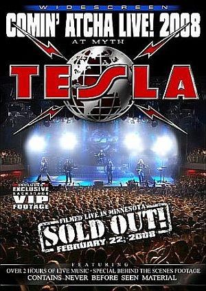 Tesla - Comin' Atcha Live 2008 DVD