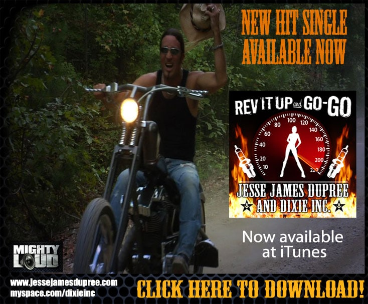 Jesse James Dupree - Rev It Up And Go-Go
