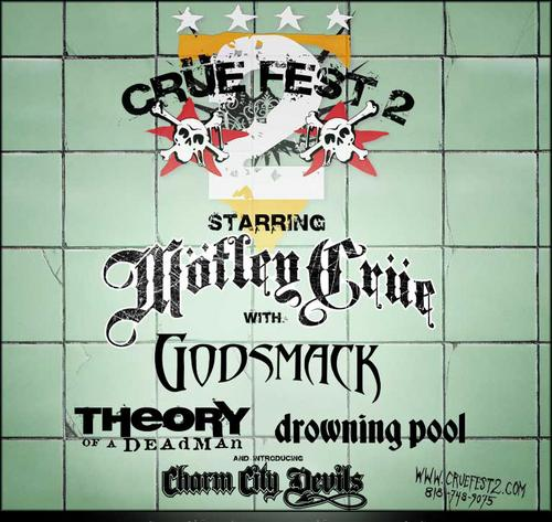 Crue Fest 2 Partners With Monster Energy Drink For Second Stage